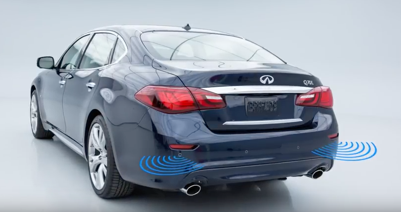 Passport Auto Shows How The Back Up Collision Intervention System